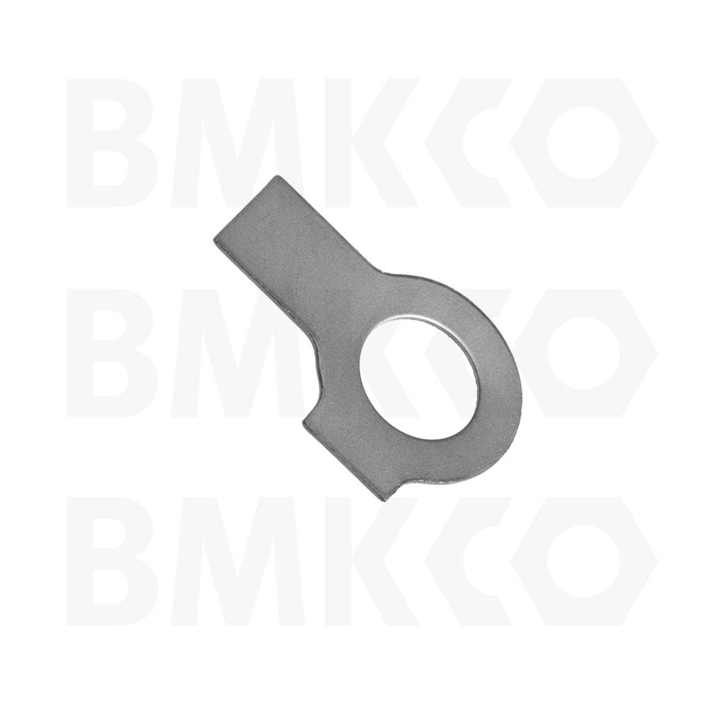 Podložky, pojistné, DIN 463 s dvěma jazýčky
