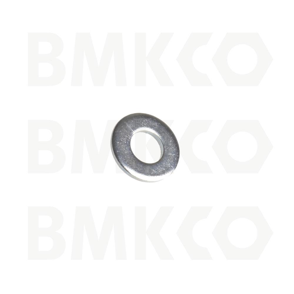 Podložky, ploché, DIN 125A pro šestihranné šrouby a matice