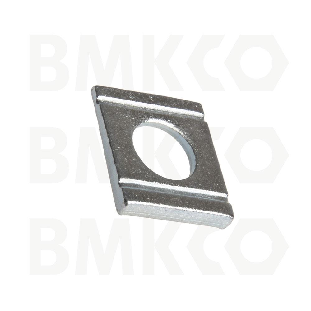 """Podložky, čtvercové, DIN 434 klínové, profil """"U"""""""