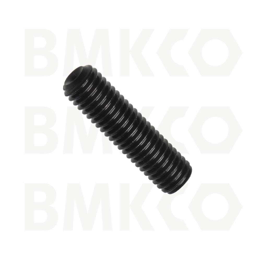 Šrouby, stavěcí (červíky), DIN 916 s kuželovým důlkem, drážka imbus