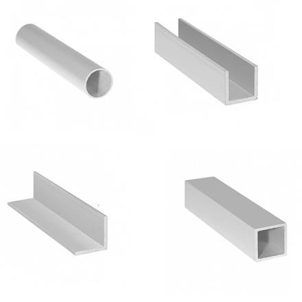 Tesařské kování, spojovací, stavební a nábytkářské prvky, profily, profily ALU