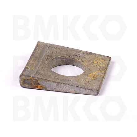"""Podložky, čtvercové, DIN 435 klínové, profil """"I"""""""
