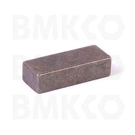 Kolíky, pera, závlačky, pera a klíny, DIN 6886B klíny drážkové