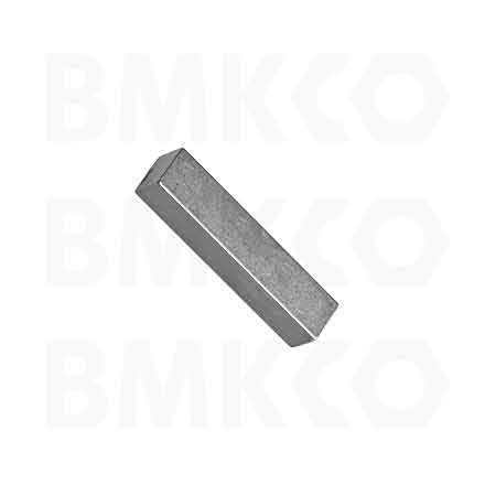 Kolíky, pera, závlačky, pera a klíny, DIN 6885B pera nezaoblená