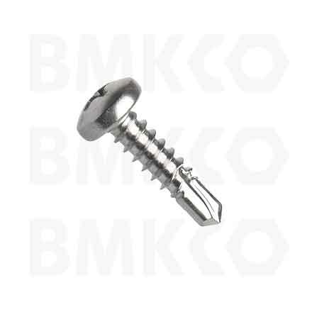 Šrouby, do plechu samovrtné (TEX), DIN7504N půlkulatá hlava, drážka Ph