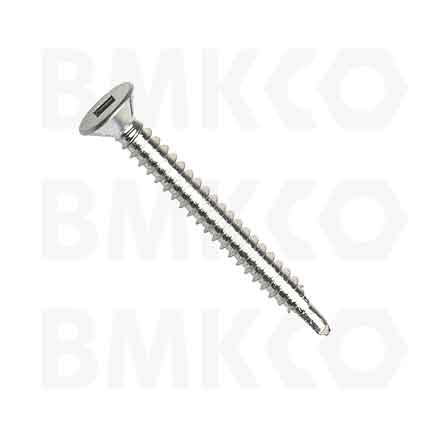 Šrouby, do plechu samovrtné (TEX), DIN7504P zápustná hlava, drážka SQ