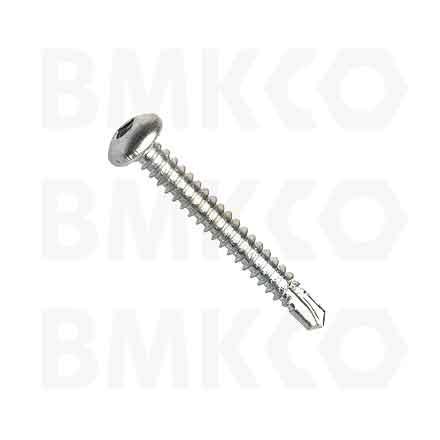 Šrouby, do plechu samovrtné (TEX), DIN7504N půlkulatá hlava, drážka SQ