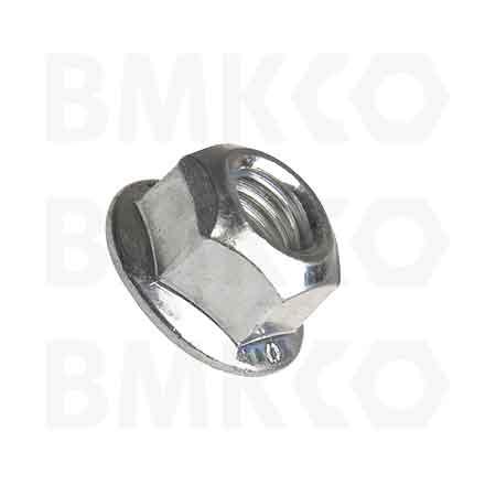 Matice, pojistné, DIN 6927 pojistné kovové s límcem