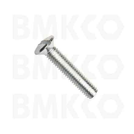 Šrouby, s čočkovitou hlavou, DIN 964A rovná drážka
